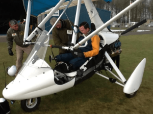 First Microlight Expedition to the South Pole Helps Wounded Veterans