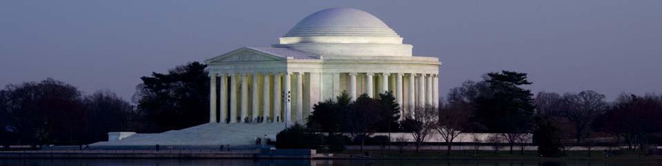 Thomas Jefferson historical sites Jefferson Memorial DC