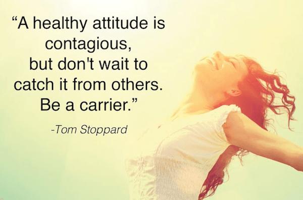 healthy attitude