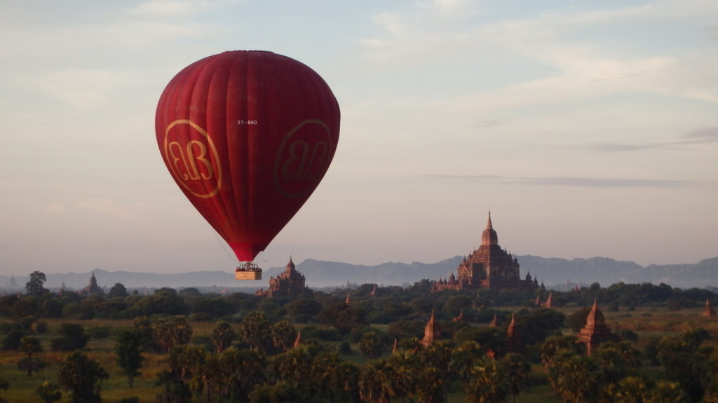 Bagan Hot Air Balloon Ride Myanmar