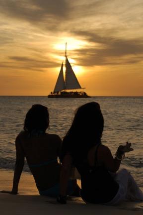 Aruba sunset, photo courtesy of Aruba Tourism