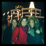 Lanee Lee Neil and Lindsay Taub with Dana Haynes at Coeur d'Alene Resort